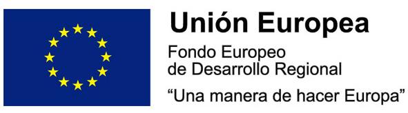 Unión Europea. Una manera de hacer Europa - Fondo Europeo de Desarrollo Regional.